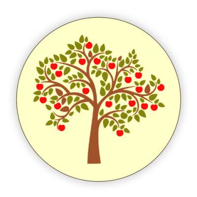 Костер (подставка под кружку) Яблоня