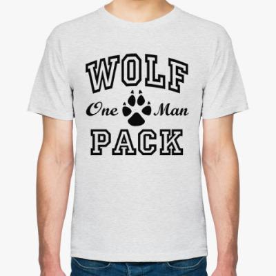 Футболка One Man Wolfpack