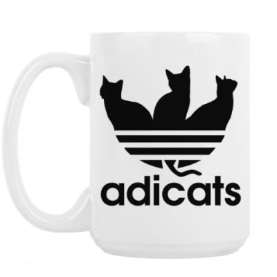 Кружка adicats кот