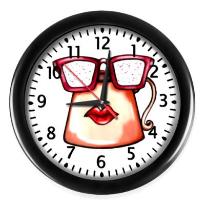 Настенные часы Coffe time