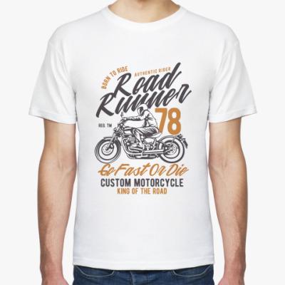 Футболка Road Runner Custom Motorcycle Vintage