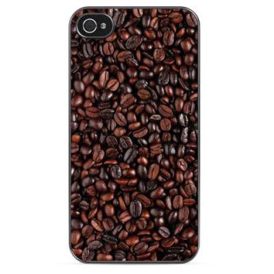 Чехол для iPhone Кофейные зерна