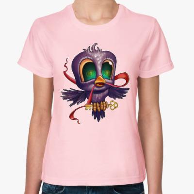 Женская футболка Lucky tweet