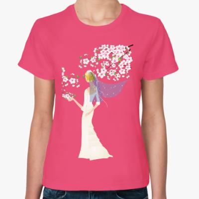 Женская футболка Невеста