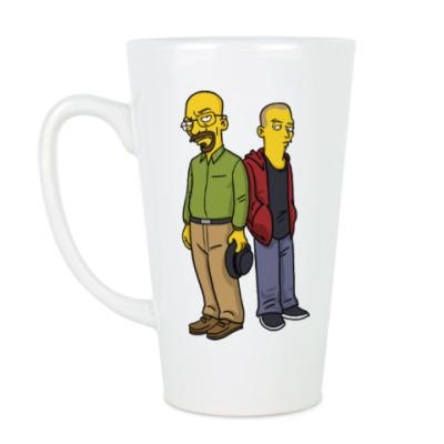 Чашка Латте Breaking Bad Simpsons