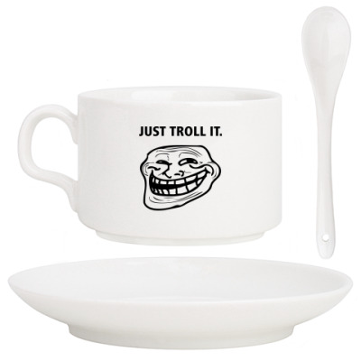 Кофейный набор Just Troll It.