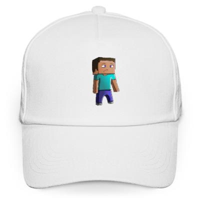 Кепка бейсболка Minecraft Steve