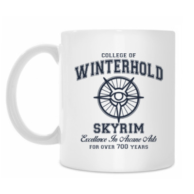 Кружка Skyrim . College of Winterhold