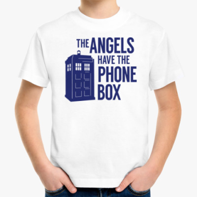 Детская футболка The Angels Have The Phone Box