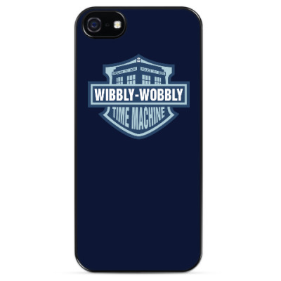 Чехол для iPhone Wibbly-Wobbly - Time Machine