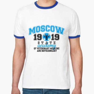 Футболка Ringer-T  Ветеринарная академия