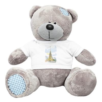 Плюшевый мишка Тедди Петропавловская крепость