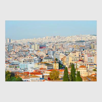 Постер Афины. Греция.