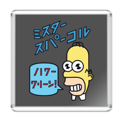Магнит Симпсоны: Японский Гомер