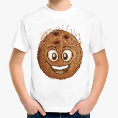 Детская футболка Весёлый кокос