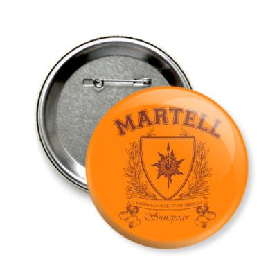 Значок 58мм House Martell
