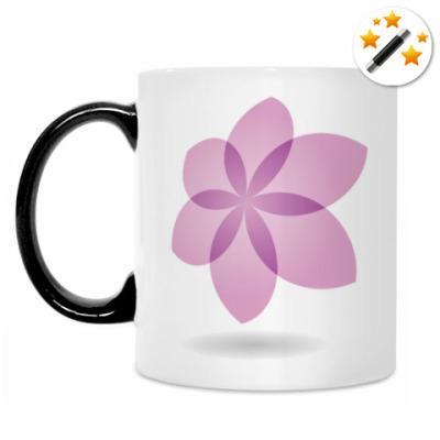 Кружка-хамелеон Цветок Лотоса