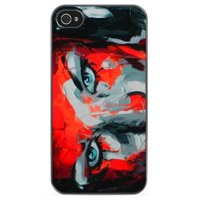 Чехол для iPhone Lady el red