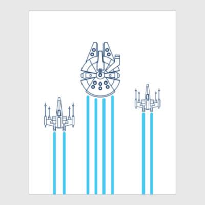 Постер звёздные войн (Star wars)