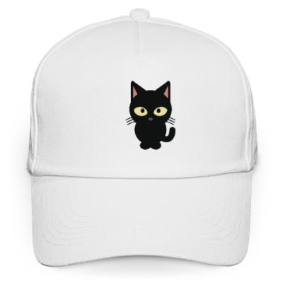 Кепка бейсболка Черный Котик