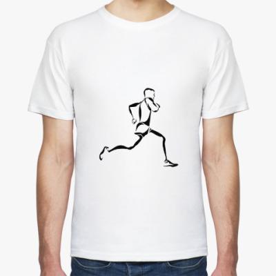 Футболка Бег / run