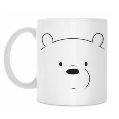 Кружка We bare Bears Ice bear