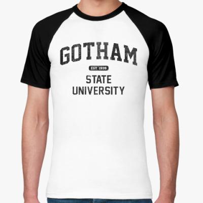 Футболка реглан Gotham University