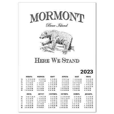 Календарь Mormont