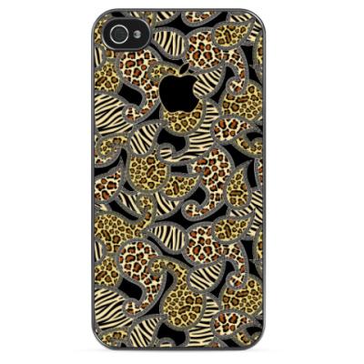 Чехол для iPhone Abstract animals