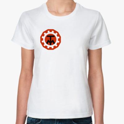 Классическая футболка Техника молодежи, ТМ, лого, old school