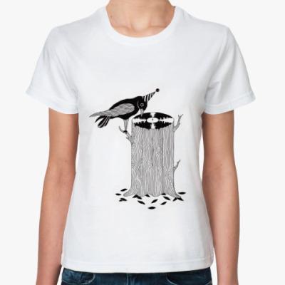 Классическая футболка Дятел dj