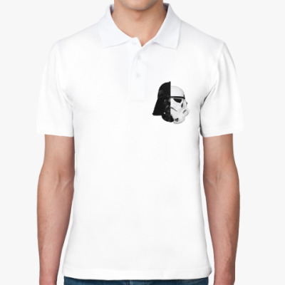 Рубашка поло Star Wars: Вейдер и Штурмовик