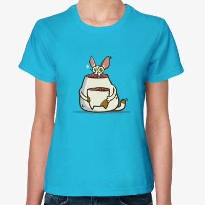 Женская футболка Некот — Пятничный Котик №49