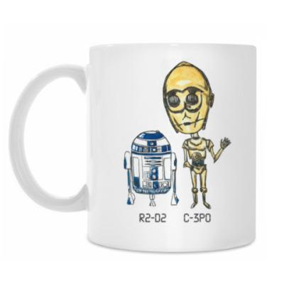 Кружка R2-D2 & C-3PO