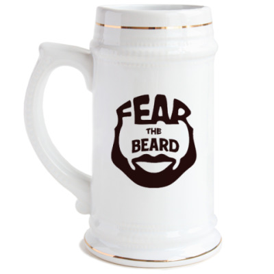 Пивная кружка Fear The Beard