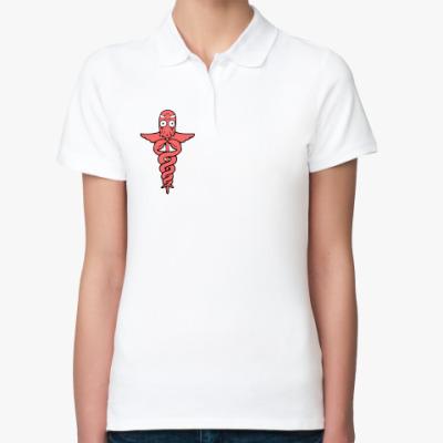 Женская рубашка поло  Зойдберг