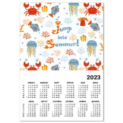 Календарь Jump into summer!