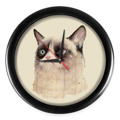 Настенные часы Grumpy Cat / Сердитый Кот