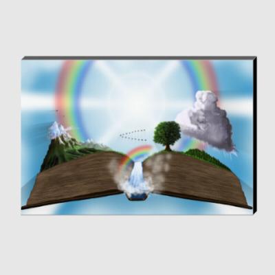 Холст Книга жизни