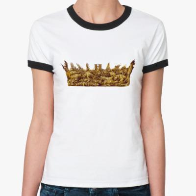 Женская футболка Ringer-T Игра Престолов: Корона