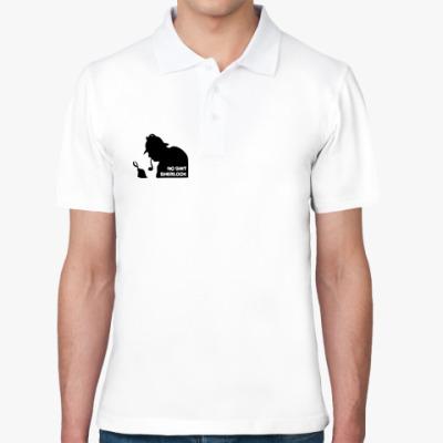 Рубашка поло  футболка Шерлок