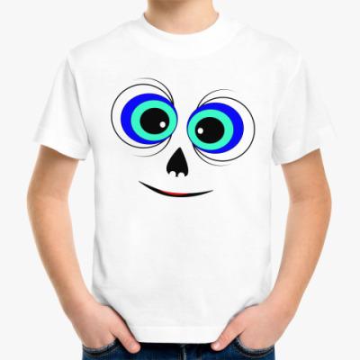 Детская футболка Снежный человек