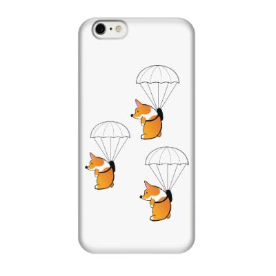 Чехол для iPhone 6/6s смешные собаки корги