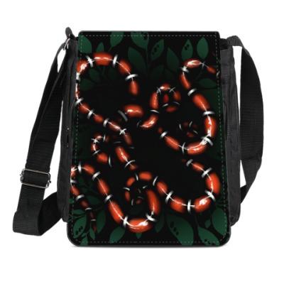 Сумка-планшет Snakes