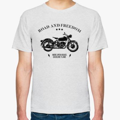Футболка Король дорог (мотоцикл)