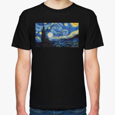 Футболка Звездная ночь Ван Гог