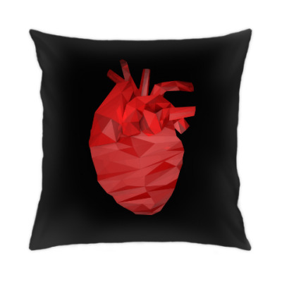Подушка Сердце 3D