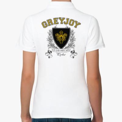 Женская рубашка поло House Greyjoy