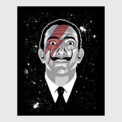 Постер Сальвадор Дали Stardust