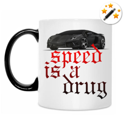 Кружка-хамелеон Speed is a drug